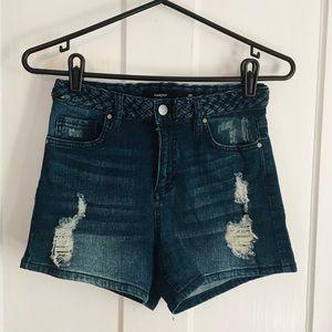 Harper denim shorts